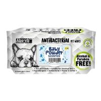 Picture of Absolute Pet Absorb Plus Antibacterial Baby Powder Pet Wipes - Carton of 12 Packs