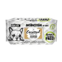 Picture of Absolute Pet Absorb Plus Antibacterial Coconut Pet Wipes Coconut - Carton of 12 Packs