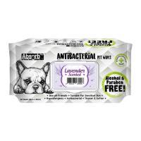 Picture of Absolute Pet Absorb Plus Antibacterial Lavender Pet Wipes - Carton of 12 Packs