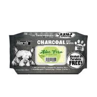Picture of Absolute Pet Absorb Plus Charcoal Aloe Vera Pet Wipes - Carton of 12 Packs