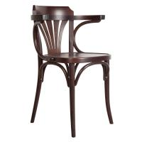 Picture of TON Solid Beech Wood Frame Chair, Coffee