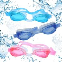 Picture of N.U.W.A Swim Goggles, 3 Pack Swimming Goggles for Adult Men Women Youth Kids Child, No Leaking Anti Fog UV 400 Protection Waterproof 180 Degree Clear Vision Triathlon Pool Goggles