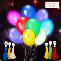 Picture of Fancy Dess Wale Assorted LED Balloons For Festival, Party Celebrations (Pack Of 5)