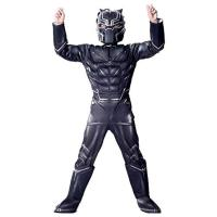 Picture of Fancy Dess Wale The Endgame Age of Ultron Black Panther Dress for Kids(5-7yrs)