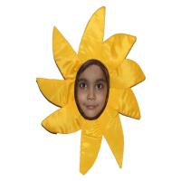 Picture of Fancy Dess Wale Flower Costume for Kids (2.5-4 Years, Yellow)