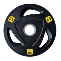 Picture of 1441 Fitness Tri-Grip Olympic Rubber Plates, 20 Kg