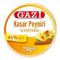 Picture of Gazi Kashkaval Semi-Hard Cheese, 250g - Carton of 14