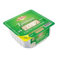 Picture of President 9% Traditional Cottage Cheese, 450g - Carton of 9