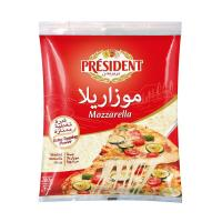 Picture of Président Shredded Mozzarella Cheese, 200g - Carton of 20
