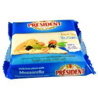 Picture of Président Processed Mozzarella Cheese Slices, 10 Pcs, 200g - Carton of 36