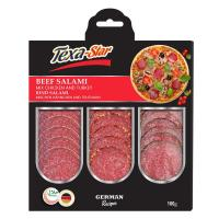 Picture of Texa-Star Chicken, Turkey and Beef Mix Salami, 100g - Carton of 10
