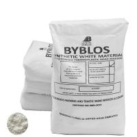 Picture of Byblos Thermoplastic Road Marking Paint, 1000kg, White - Pallet of 40 Bags