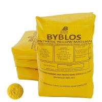 Picture of Byblos Thermoplastic Road Marking Paint, 1000kg, Yellow - Pallet of 40 Bags