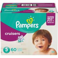 Picture of Pampers Cruisers Diapers, 60 Pcs, Size 5, 11-16kg