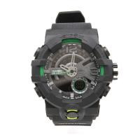 Picture of Exponi 2 Pcs Digital Watch with Box, Black & Green - Carton of 30 Pcs