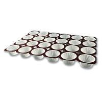 Picture of Al Bayader 24 pcs Paper Muffin Baking Mold tray - carton of 125 pcs