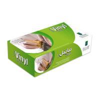 Picture of Al Bayader Disposable Vinyl Gloves, Large - Carton of 10 Packs