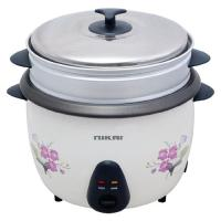 Picture of Nikai Portable Electric Rice Cooker, 2.2l, White & Grey, NR673N