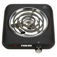 Picture of Nikai Coil Hot Plate, 1200W, Black, NCC111