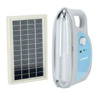 Picture of Olsenmark Solar Rechargeable LED Lantern, OME2769, White - Carton of 10 Pcs