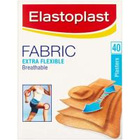 Picture of Elastoplast Extra Flexible Fabric Plasters, 40 Pcs