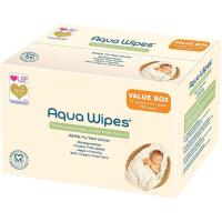 Picture of Aqua Wipes Purified Water & Aloevera Newborn Baby Wipes, 64 Sheets