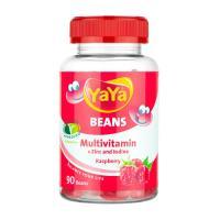 Picture of YaYa Zinc & Iodine Raspberry Multivitamin Beans, 90 Beans