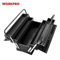Picture of Workpro Portable Folding 5-Tray Metal Tool Box