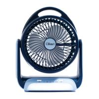 Picture of Clikon Mini Table Fan With LED Lamp, 6inch, CK2217