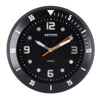 Picture of Krypton Round Wall Clock, Black, KNWC6120, Carton of 10Pcs