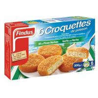 Picture of Findus 6 Fishcakes With Garlic And Herbs, 300 g - Carton of 8 Pcs