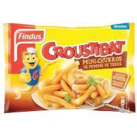 Picture of Findus Potatoes Mini Churros, 600 g - Carton of 10 Pcs