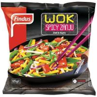 Picture of Findus Spicy Zanju Wok, 325 g - Carton of 16 Pcs