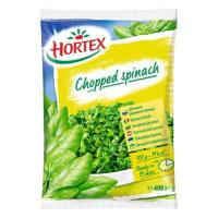 Picture of Hortex Frozen Minced Spinach, 400 g - Carton of 14 Pcs