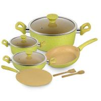 Picture of Royalford Forged Aluminium Cookware Set, RF9838, Set of 10Pcs