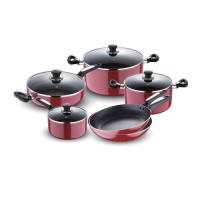 Picture of Royalford Aluminum Non-Stick Cookware Set, RF8500 - Set of 10Pcs