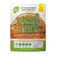 Picture of Full Green Vegi Sweet Potato Cauli Rice, 200 grams - Carton of 6 Packs