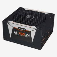 Picture of Gigabyte Aorus 80 Plus Gold Modular Power Supply Unit, 750 W, Black