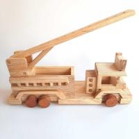 Picture of Toddle Care Wooden Fire Engine Truck for Kids