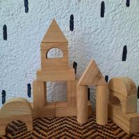 Picture of Toddle Care Wooden Tower Building Block Games for Kids