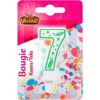 Picture of Vahine Accessories Figure Candle of 7, 30g - Carton of 12