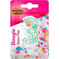 Picture of Vahine Accessories Figure Candle of 3, 30g - Carton of 12