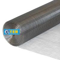 Picture of YKM 304 Stainless Steel Square Welded Mesh, 1.2x30m, Silver
