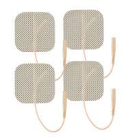 Picture of TENSpros Premium Tan Cloth Electrodes, Tan, 2x2 Inch, 4 Pcs