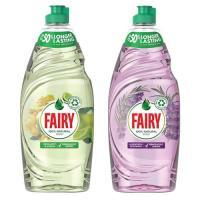 Picture of Fairy Dishwashing Liquid Bergamot + Lavender, Carton of 2 Pcs