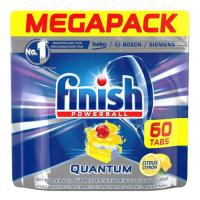 Picture of Finish Dishwasher Quantum Max Lemon, Carton of 5 Pcs