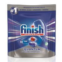 Picture of Finish Dishwasher Tablets Quantum Regular, Carton of 8 Pcs