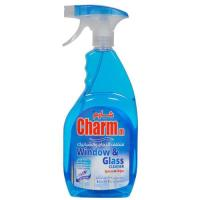 Picture of Charmm Window & Glass Cleaner, Blue, 750ml - Carton of 12 Pcs