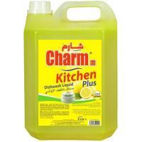 Picture of Charmm Dishwashing Liquid Lemon, 5L, Carton of 4 Pcs
