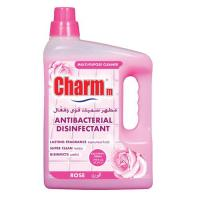 Picture of Charmm Antibacterial Disinfectant, Rose, 3L, Carton of 4 Pcs